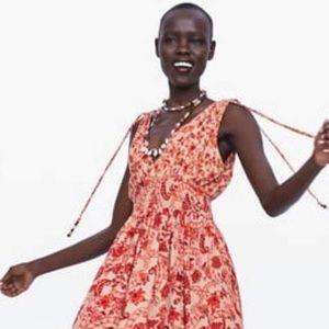 NWOT Zara Simmer dress